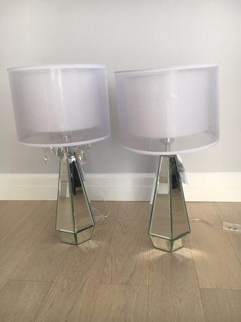 2 piękne lampy glamour