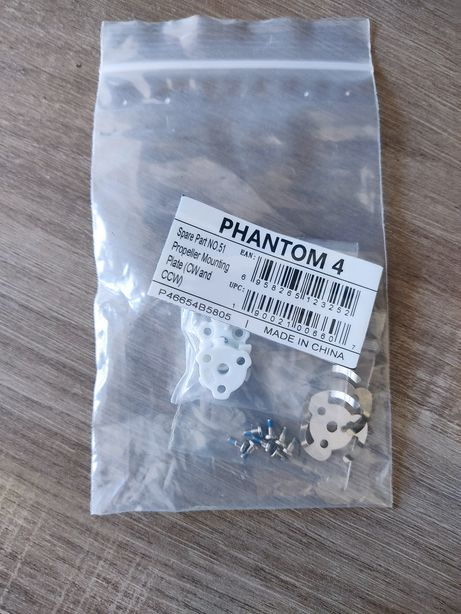 DJIPropeller Mounting Plates for Phantom 4-Series Quadcopters (CW/CCW