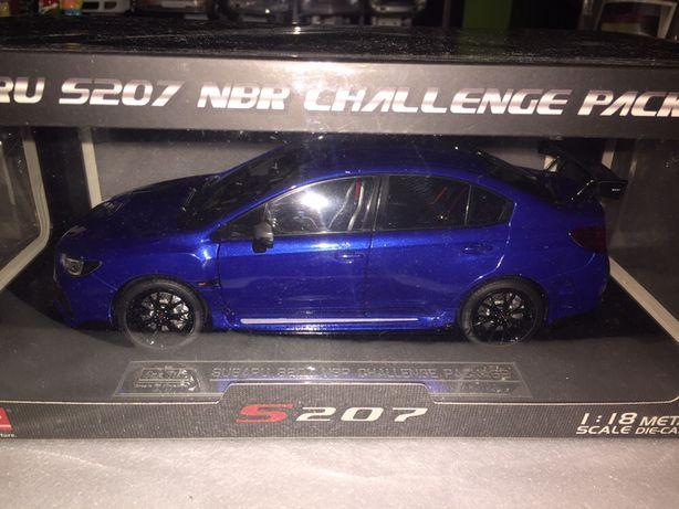 Subaru S207 1/18  Sunstar Edicao Especial Novo