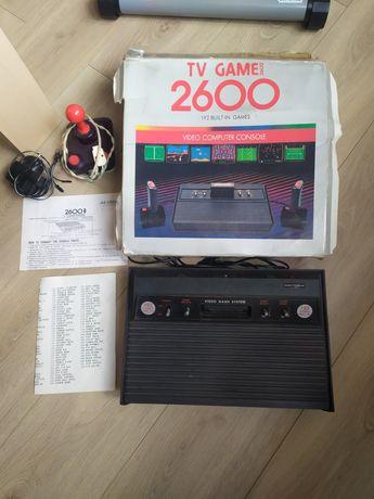 ATARI 2600 klon +joystick (dżojstik) papiery / konsola gra pegasus