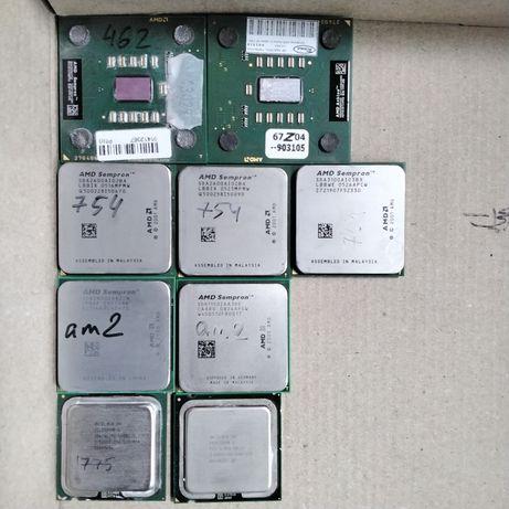 Процессоры AMD 754 AM2 и  INTEL LGA 775