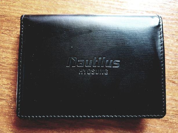 Визитница кожаная Nautilus Hyosung