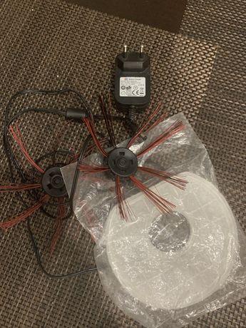 Зарядка 19V 600mA робот пылесос Dirt Devil Spider +щетки и фильтр