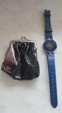 zegarek damki NOWY(portfelik gratis)