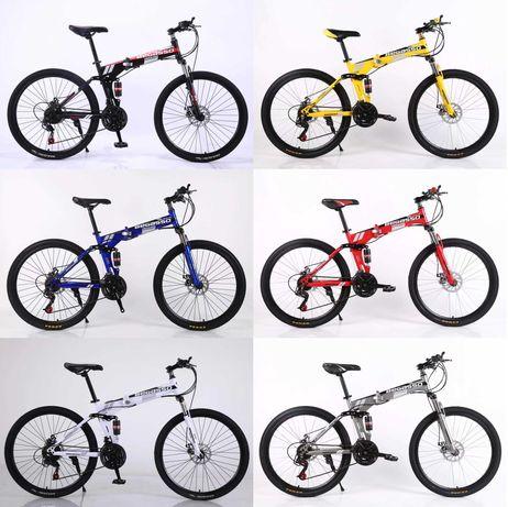 """Велосипеды складные  26"""" 17"""" 6 цветов оплата частями моно/приват 6 мес"""
