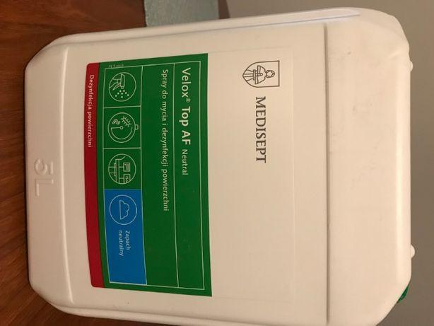 Medisept spray teatonic 5L do mycia i dezynfekcji+butelka 1l z pompką