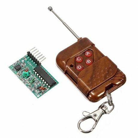 Беспроводной 4х канальный передатчик - приёмник