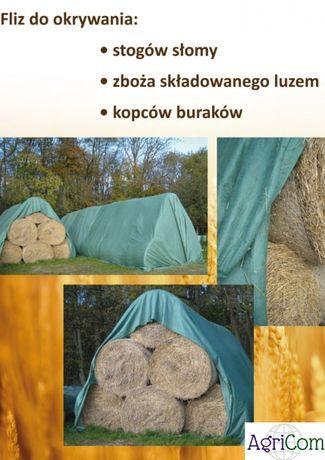 Fliz na słomę włóknina plandeka otulina 140g/m2 NIEMIECKA JAKOŚĆ