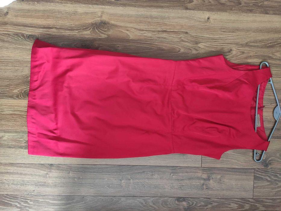 Czerwona sukienka ołówkowa Beata Rębowska collection Blachownia - image 1