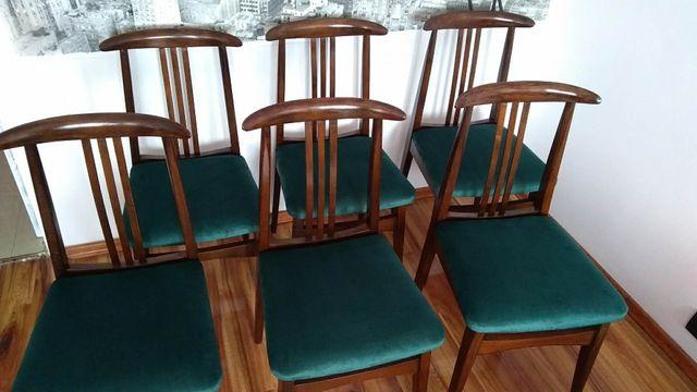4 Krzesła Prl lata 60-te Retro Vintage