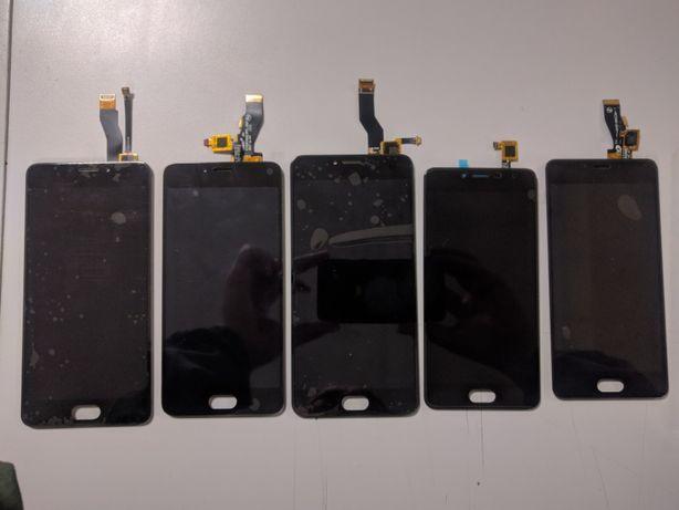 Дисплейный модуль(стекло+сенсор+экран) Meizu Note m3 m5 m6 6t m5s