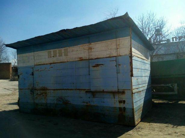 Продам металлический киоск( строительный вагончик)б/у