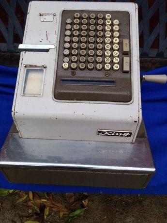 Máquina registadora antiga king