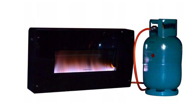 Grzejnik gazowy, ogrzewacz, piecyk FUJIJAMA HP-5 glas
