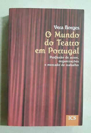 """Livro """"O Mundo do Teatro em Portugal"""", Vera Borges"""