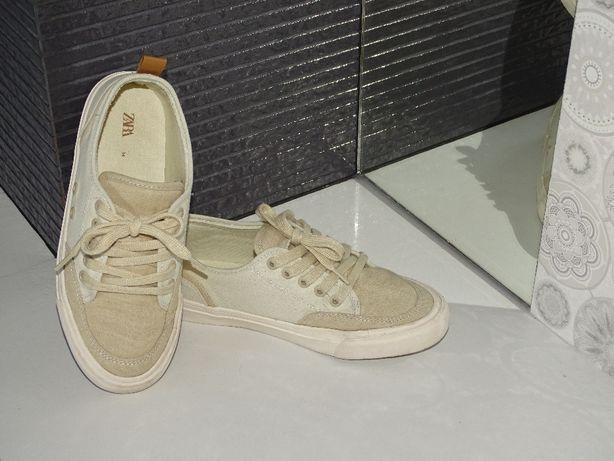 Świetne buty Zara trampki r.34 idealne