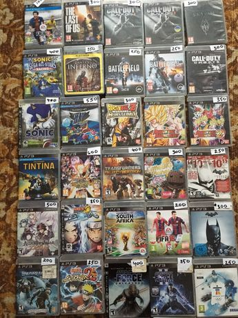 игры для  Playstation 3 PS3 PS move (лицензия)
