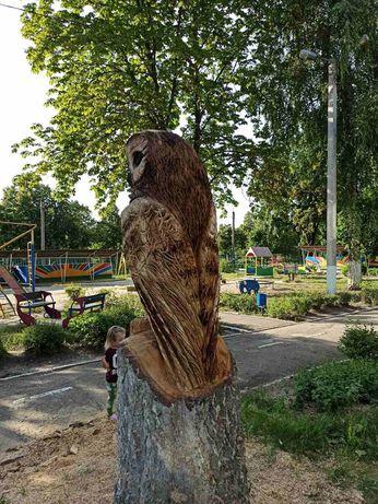 Резьба по дереву,  скульптура из дерева,  деревянная скульптура