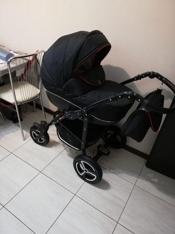 Wózek Mikado 3 w1 plus moskitiera i folia przeciwdeszczowa