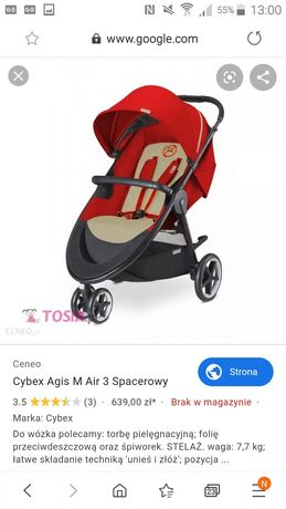 Cybex agis M air m3 wózek spacerowy
