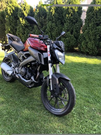 Yamaha MT125 Rok 2014