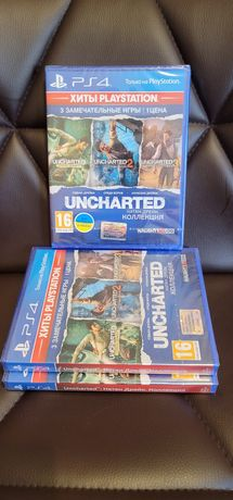 Продам Uncharted Collection (три игры)