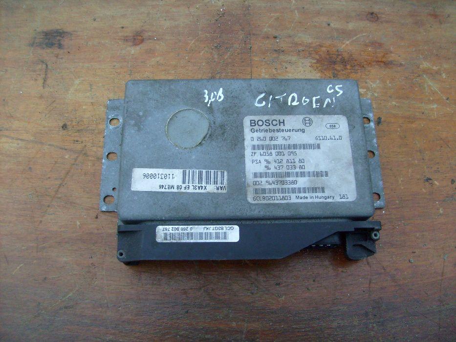 Sterownik modul skrzyni biegów Citroen C5 964.1281.180