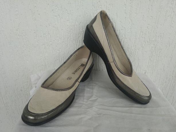 Туфли кожанние Leonie р.36-36.5