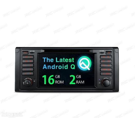 "AUTO RADIO GPS ANDROID 10 BMW SERIE 5 E39 97-03 7"""