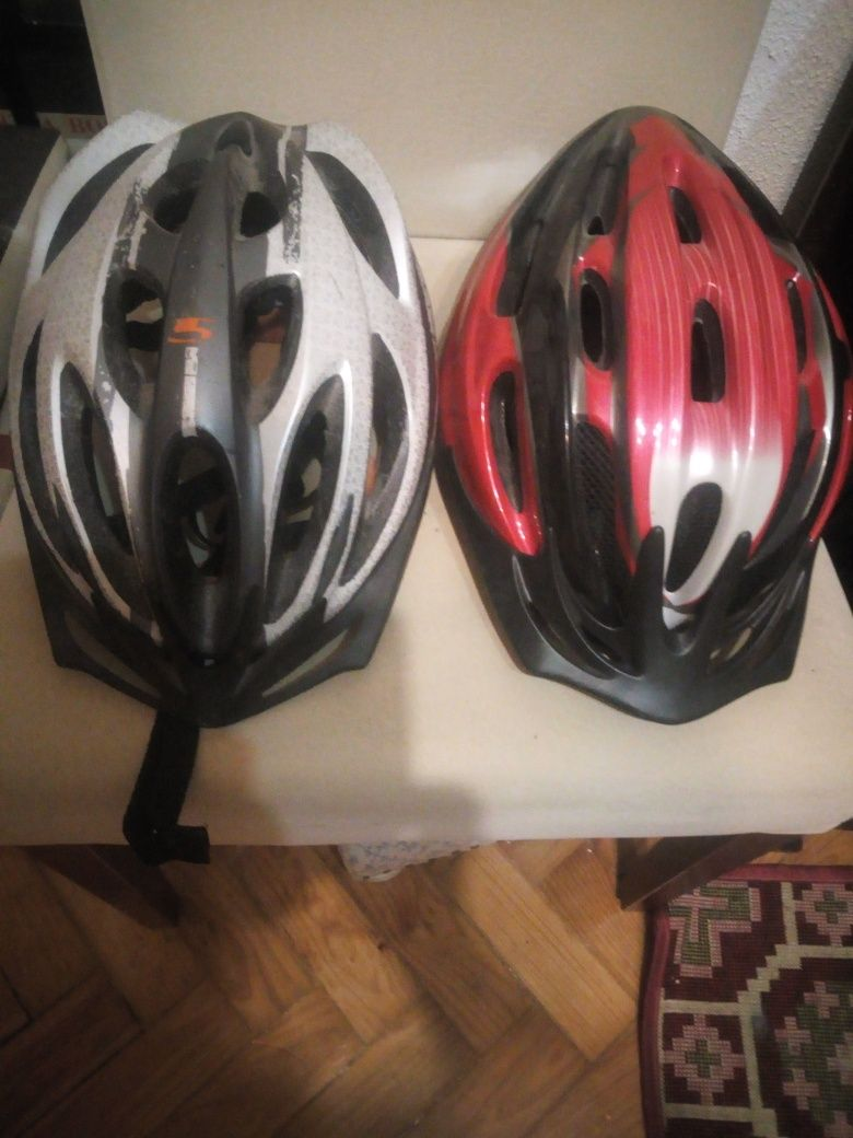Conjunto de 2 capacetes bike