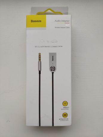 Baseus Bluetooth 5.0 music receiver BA-01 (блютуз для автомобіля)