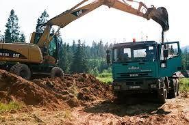 Prace Ziemne- Usługi Koparka - Wyburzenia-Rozbiórki-Transport Wynajem