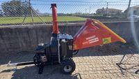 Biotriturador gasolina 14 cv com martelos, laminas e rolo alimentador