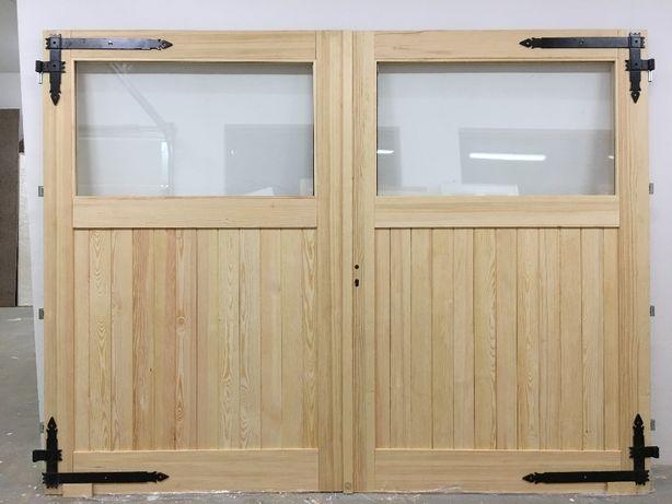 Drzwi garażowe frezowane grubość 5cm, brama