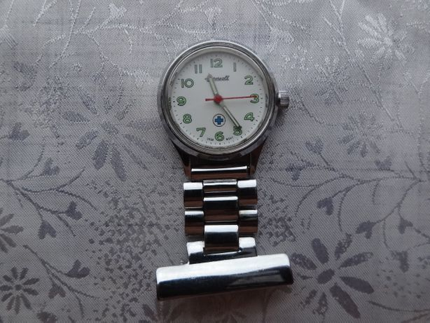 Часы Заря 21 камень брошь часы медсестры Ingersoll USSR movt механика