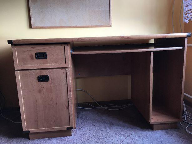 używane biurko 126 x 60