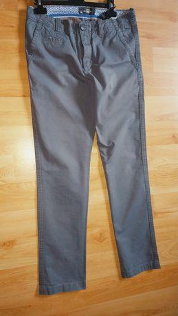 Siwe spodnie 164