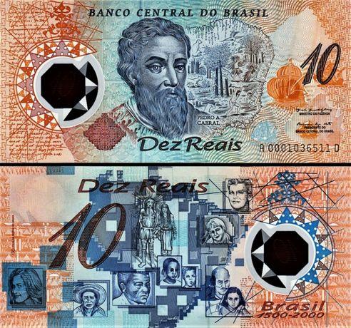 Brazylia 2000- Millenium -polimer UNC! GRATIS WYSYŁKA!