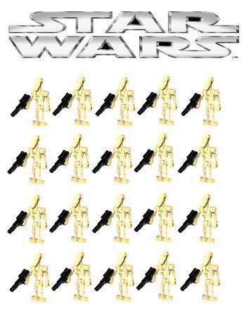 Bonecos minifiguras Star Wars nº41 (compativel com lego)