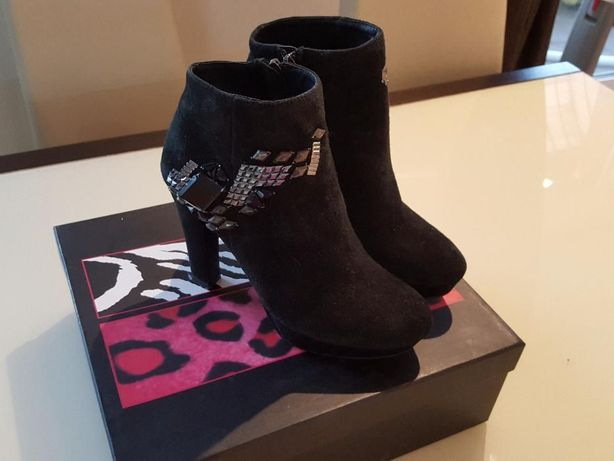 Замшевые ботиночки Mia-Mia 36 раз.