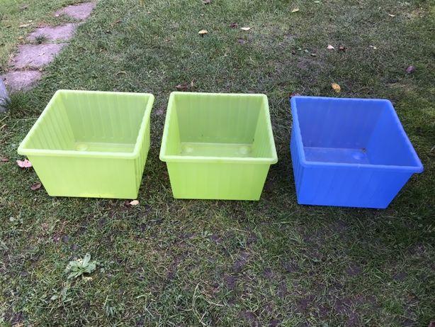 3 pudełka Ikea Vessla