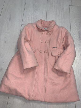 Пальто на девочку  2-4 года 98 см