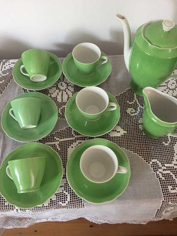 Serwis porcelanowy do espresso Feston , Ćmielów , PRL