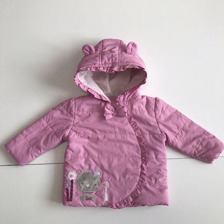 Курточка с ушками 6-9 9-12