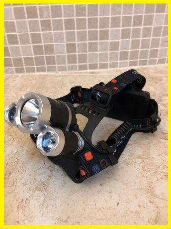 Мощный налобный фонарь Bailong Police фонарик для охоты Лидер продаж!