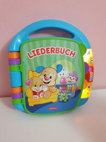 Książka śpiewająca po niemiecku Liederbuch