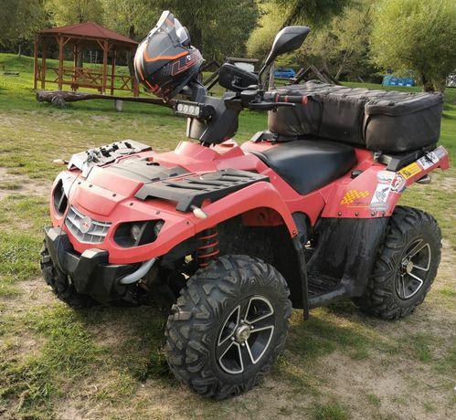 Quad Masai a 433 Silnik Rotax, (kopia can am Outlander)