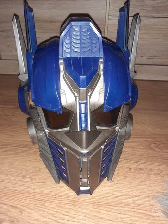 Hełm trasformers,  Optimus Prime w języku angielskim