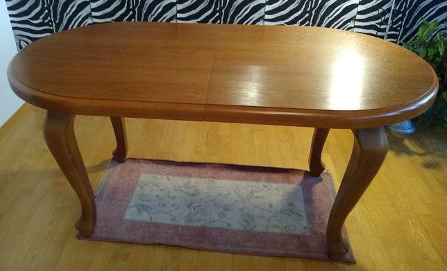 Stół + 6 kszeseł PRAWDZIWE DREWNO