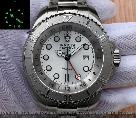 Мужские часы Invicta 29726 Reserve Hydromax Pro Diver Swiss GMT Quartz